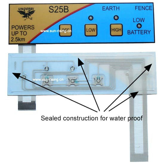 Sealed membrane switches